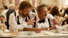 Paul Giamatti and Dustin Hoffman in Sony Pictures Classics' 'Barney's Version'