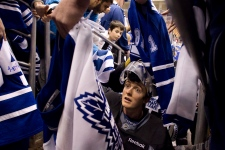 Toronto Maple Leafs take the ice