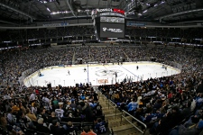 Pittsburgh Penguins play intra-squad scrimmage