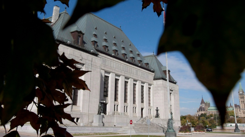 The Supreme Court of Canada is seen in Ottawa on Oct. 2, 2012. (Adrian Wyld / THE CANADIAN PRESS)