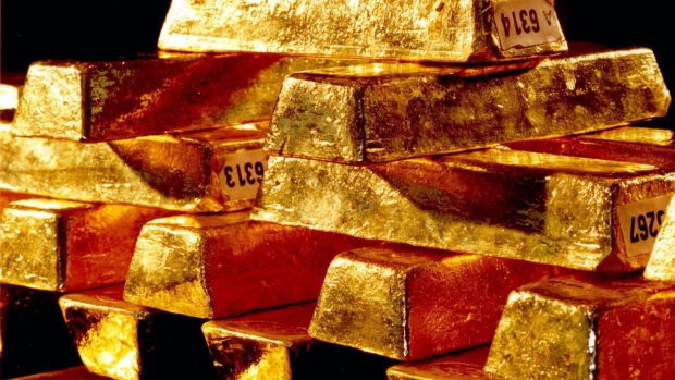 Gold ingots are shown in this file photo. (AP Photo / Deutsche Bundesbank)
