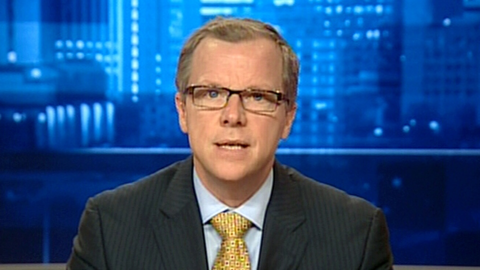 Saskatchewan Premier Brad Wall appears on CTV's Power Play, Thursday, Jan. 17, 2013.
