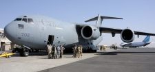 Canadian C-17 makes cargo drop in Mali