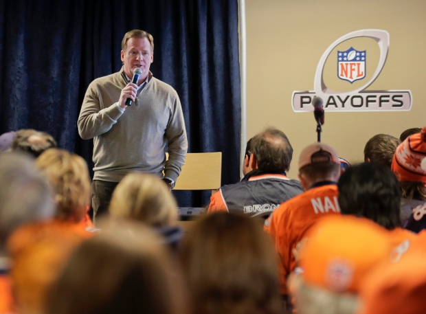 Roger Goodell speaks answers fans' questions