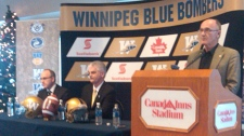 Officials with the Bombers discussed the plan for the team to repay its share of the new stadium costs on Dec. 21, 2010.