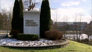Trinity Western University is seen in this undated photo.
