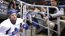 NHL Fans open practice Maple Leafs