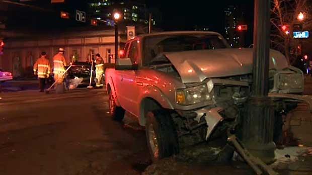 17 Ave. crash