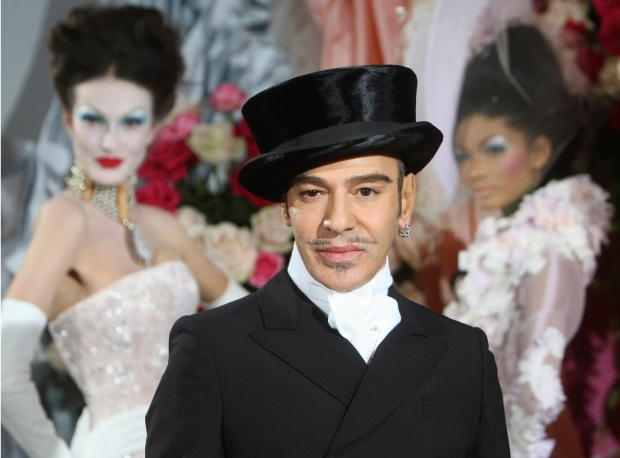 John Galliano on Jan. 25, 2010.