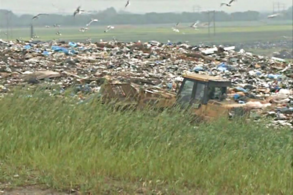 The city is considering buying fuel from the landfill.
