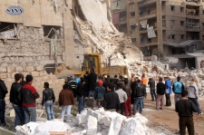 Rocket kills at least 12 people in Aleppo, Syria