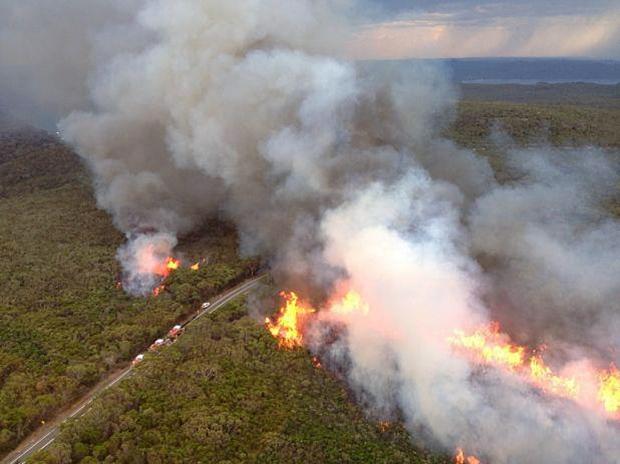 Deadly wildfires burn in Australia