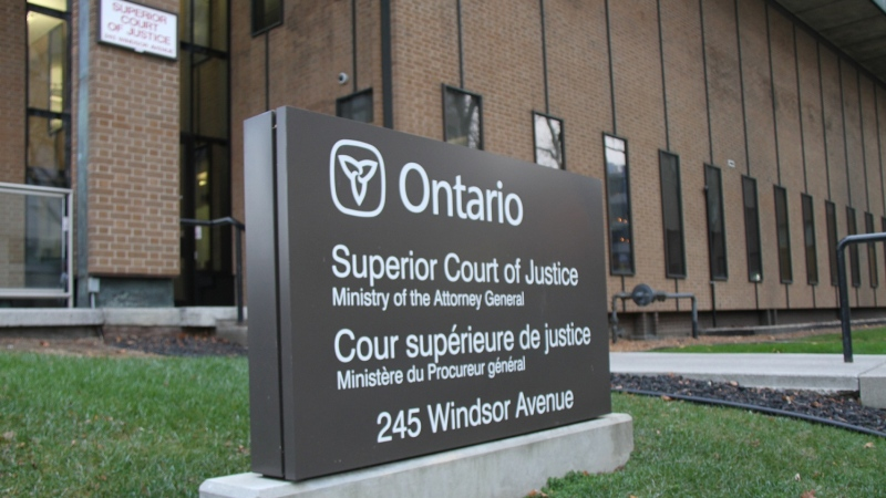 Superior Court of Justice shown in this file photo in Windsor, Ont., Nov. 19, 2013. (Melanie Borrelli / CTV Windsor)