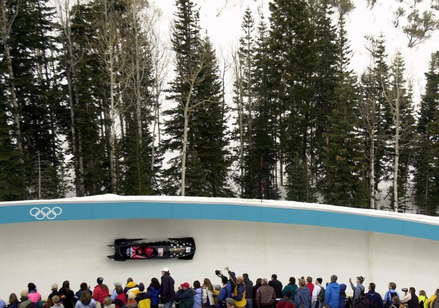 BMW bobsled at Sochi 2014
