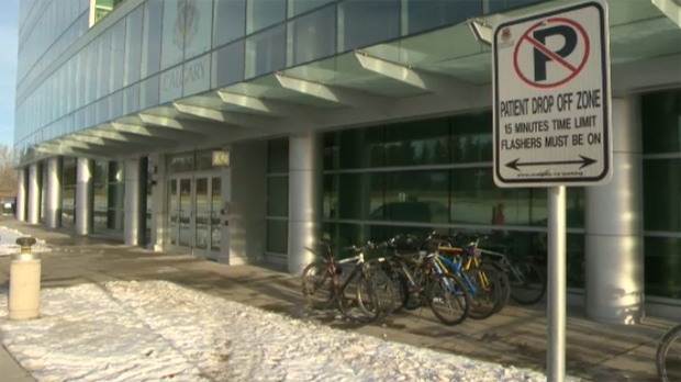 The Helios clinic, located in the University of Calgary's Teaching Research & Wellness Building, is alleged to have arranged preferential treatment for its patients