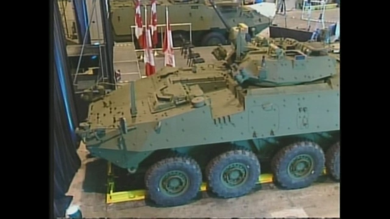 A Light Armoured Vehicle, like those being upgraded by General Dynamics Land Systems, is seen in this undated image.