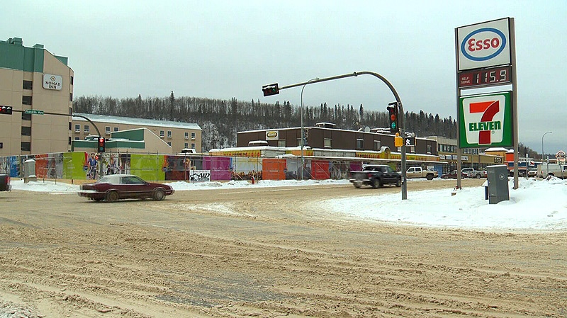 Fort McMurray motorists are paying considerably more than drivers in other parts of Alberta for gas.