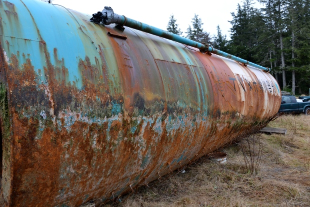 Japanese silo washes ashore in B.C.