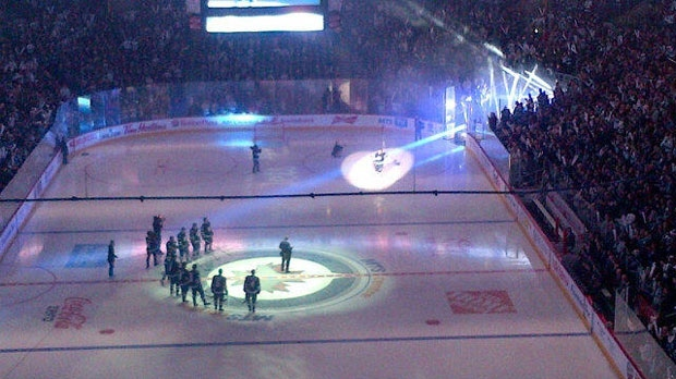 The Winnipeg Jets lost against the Ottawa Senators in their first game of the NHL season.