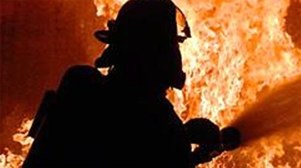 Crews were called to a fatal cabin fire near The Pas. (file image)