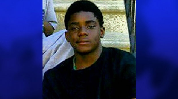 Tyson Bailey, a 15-year-old who was shot to death in Regent Park, is seen in this undated photo.