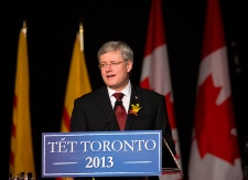 Stephen Harper celebrates Vietnamese New Year