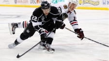 Los Angeles Kings NHL back on ice