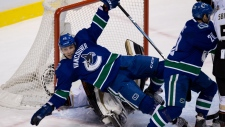 Vancouver Canucks' Maxim Lapierre