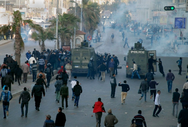 Four dead in Egyptian clashes