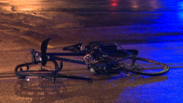 Cyclist has serious injuries after hit and run