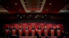 Federal Liberal debate in Vancouver, B.C. Jan. 20