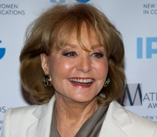 ABC newswoman Barbara Walters