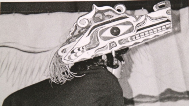 First Nations Hupacasath mask