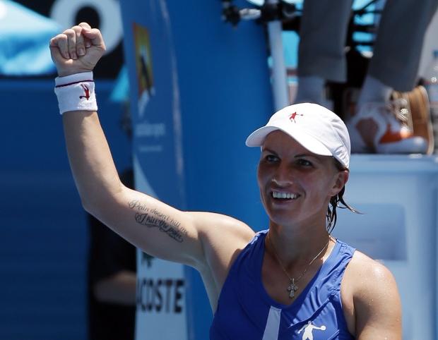 Russia's Svetlana Kuznetsova at Australian Open
