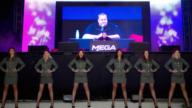 Kim Dotcom launches new file-sharing site