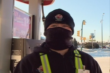 Wind chill values Monday morning in Saskatoon