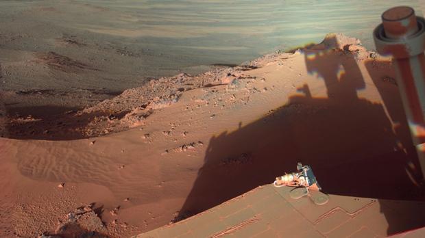 NASA Opportunity Mars rovers