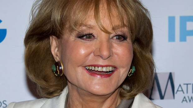 Barbara Walters fall recovering hospital