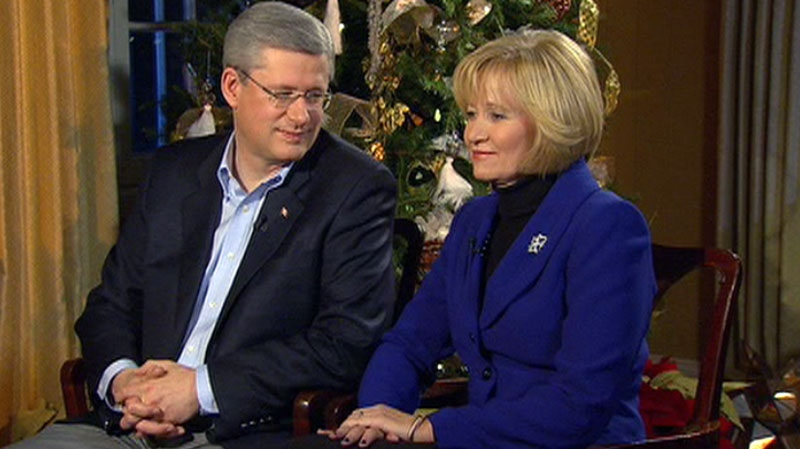 Stephen and Laureen Harper sit down with Chief Anchor and Senior Editor of CTV News Lloyd Robertson and Ottawa Bureau Chief Robert Fife in CTV's annual Conversation with the Prime Minister.