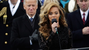 Beyonce questioned about lip syncing