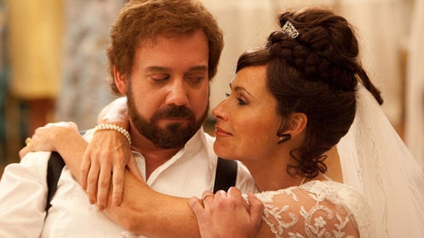 Paul Giamatti and Minnie Driver in Sony Pictures Classics' 'Barney's Version'