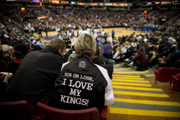 Sacrameno Kings fans