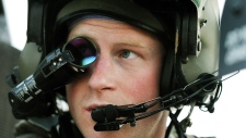 Prince Harry helicopter pilot Afghanistan