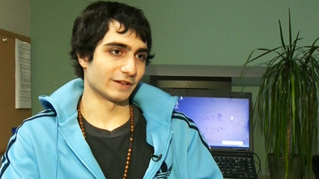 Expelled computer science student Hamed Al-Khabaz speaks to CTV Montreal on Monday, Jan. 21, 2013.