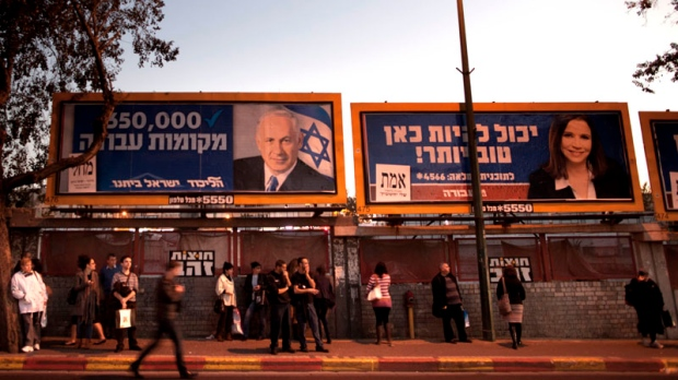 Israelis prepare to vote in election