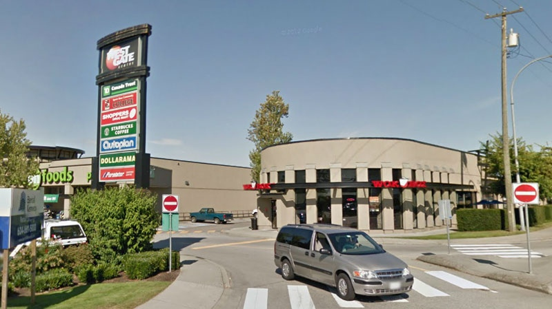 The exterior of Westgate Mall in Maple Ridge is seen in this undated Google Maps image.