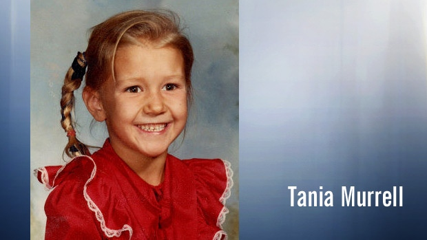 Tania Murrell, then 6-years-old, is shown in a photo that was distributed when she was first reported missing January 20, 1983.