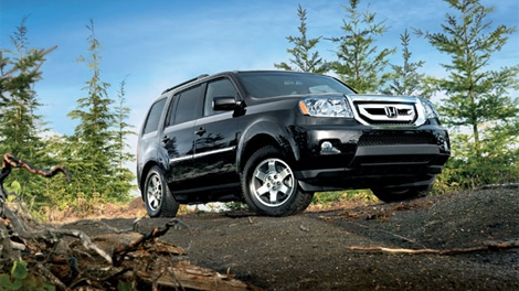 2011 Honda Pilot is seen in this image courtesy Honda