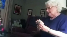Grandma-to-be 'embarrassed' over viral video
