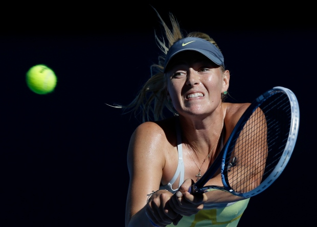 Maria Sharapova impressive at Aussie Open